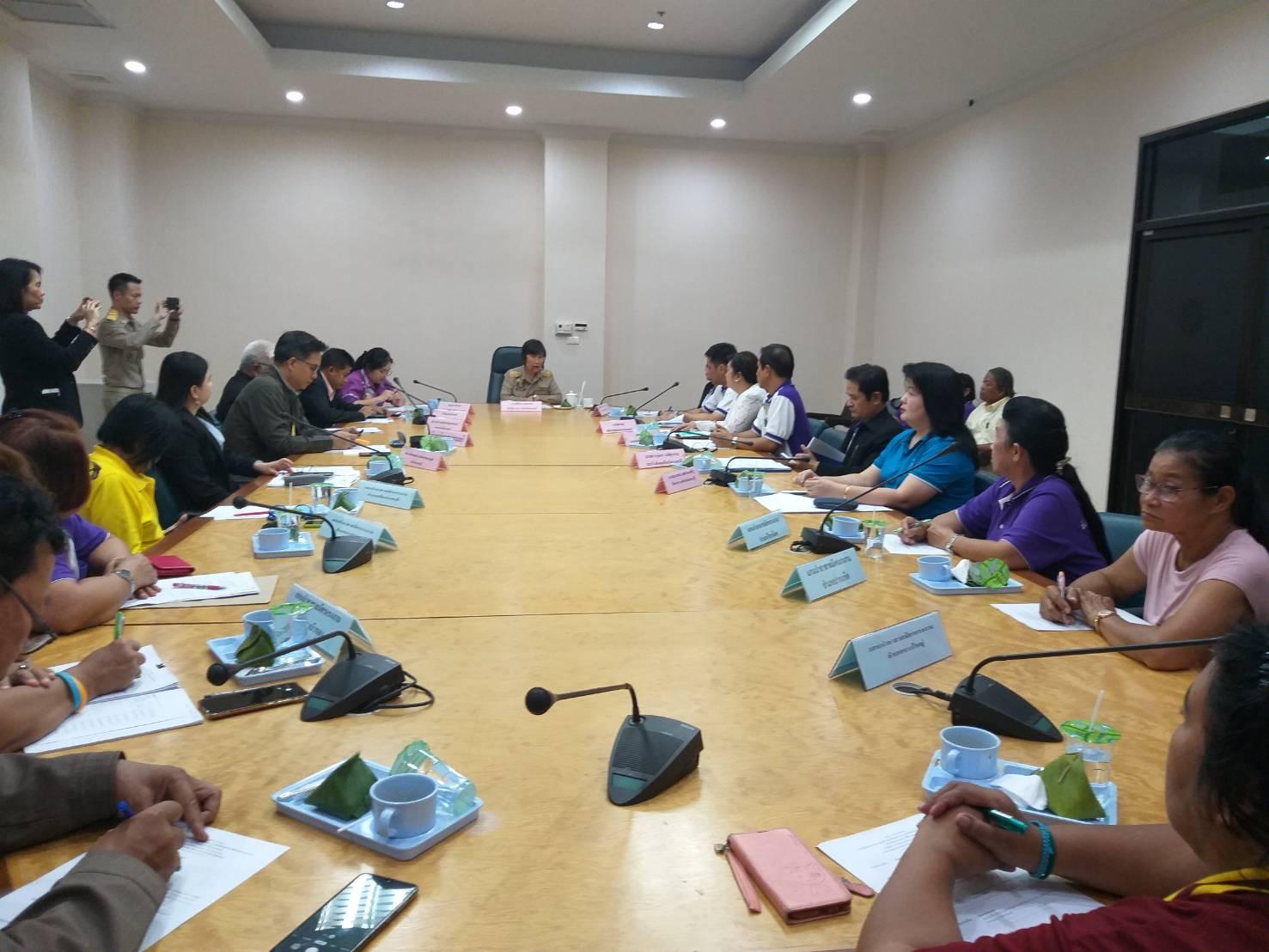 สำนักงานแรงงานจังหวัดนนทบุรีจัดประชุมคณะกรรมการศูนย์ช่วยเหลือผู้ประสบความเดือดร้อนด้านอาชีพ กระทรวงแรงงานประจำจังหวัดนนทบุรี ครั้งที่ 1/2563
